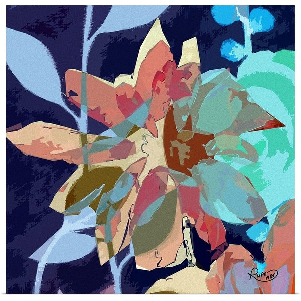 """Abstract Flower II"" Poster Print"