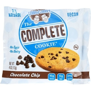 Lenny & Larry's Chocolate Chip Complete Cookie, 4 Oz (Pack Of 12)