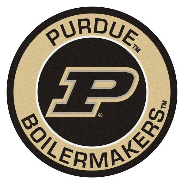 "Purdue University Roundel Mat - 27"". Opens flyout."