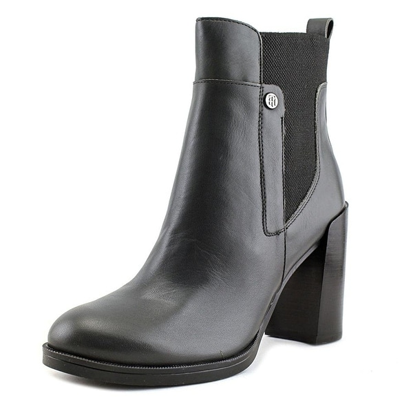 Tommy Hilfiger Womens BRITTTON Closed Toe Ankle Fashion Boots