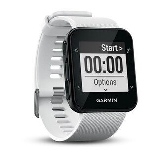Garmin Forerunner 35 White GPS Running Watch with Wrist-based Heart Rate
