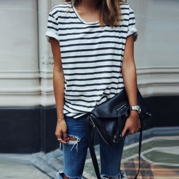 da6974c16140bc Shop Womens Straps T-Shirts Summer Blouses A2 - On Sale - Free ...
