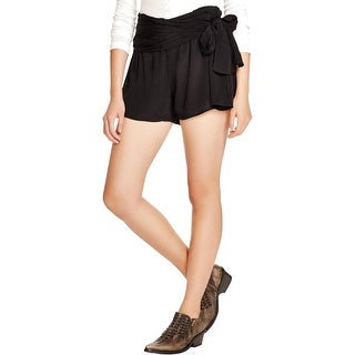 Free People Womens Casual Shorts Layered Ruched