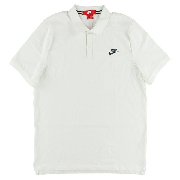 939c6e83b6bf Shop Nike Mens Slim Polo Shirt White - xL - Free Shipping On Orders Over  $45 - Overstock.com - 22615191