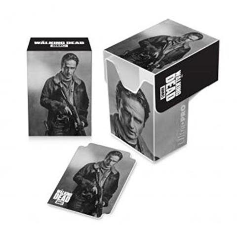 Ultra Pro Gaming Card Full View Deck Box The Walking Dead RickGrimes w/ Divider