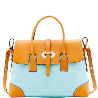 Dooney & Bourke Verona Bionda Elisa (Introduced by Dooney & Bourke at $298 in Apr 2016) - Pale Blue