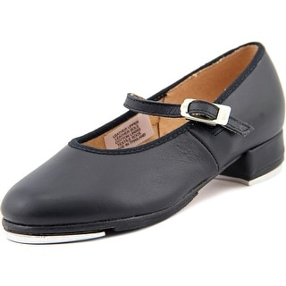 Bloch Tap On Tap Women Round Toe Leather Black Dance