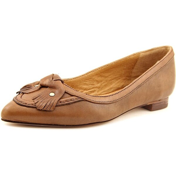 Corso Como Musical Women Pointed Toe Leather Brown Flats