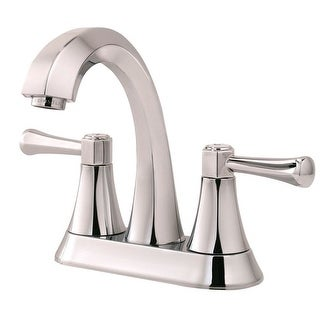 Price Pfister F048AVCC Two Handle Bathroom Faucet, 4""