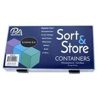 PA Ess Acrylic Organizer Box, 18 Compartment