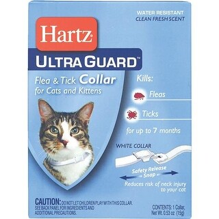 Hartz Mountain Kitten & Cat F&T Collar 80483 Unit: EACH