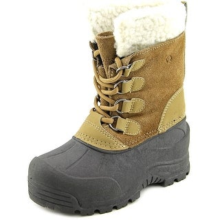 Northside Back Country Youth Round Toe Suede Tan Snow Boot