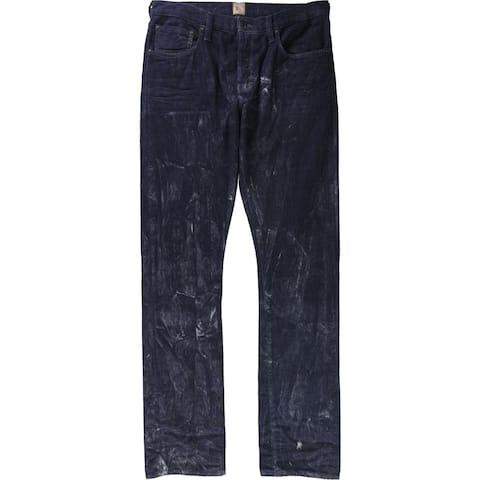 Prps Goods & Co. Mens Demon Polaris Slim Fit Jeans, Blue, 34W x 36L - 34W x 36L