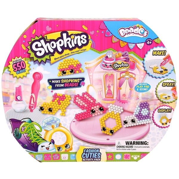 Beados Shopkins S3 Activity Pack Fashion Cuties - Multi