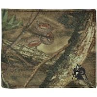 Rocky Wallet Mens Bifold Mossy Oak ID Window Card Slots Camo - One size
