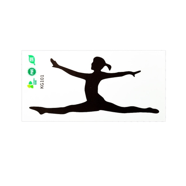 Ballet Pattern Wall Stickers Removable Art Decals for Living Room Bathroom