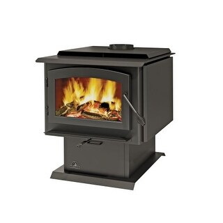 Napoleon 2300 Economizer EPA 3 Cubic Foot Pedestal Wood Burning Stove from the T