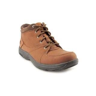 Dunham Addison Round Toe Leather Work Boot