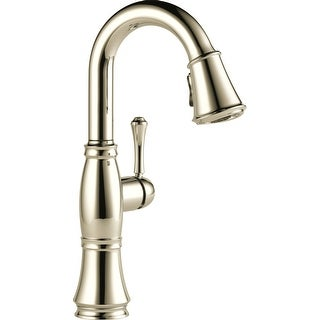 Delta 9997-DST  Cassidy Pull-Down Bar/Prep Faucet with Magnetic Docking Spray Head