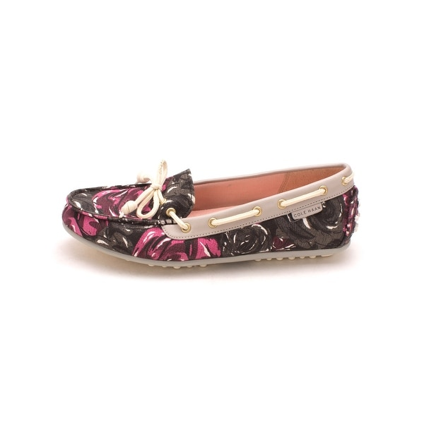 Cole Haan Womens D43383 Canvas Closed Toe Boat Shoes - 6