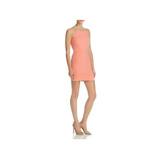 Elizabeth and James Womens Lane Cocktail Dress Cut-Out Spaghetti Strap (2 options available)