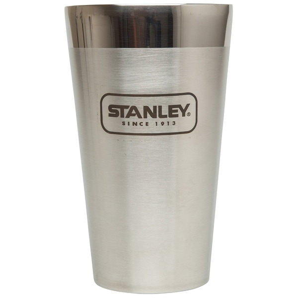 Stanley 10-02282-002 Adventure Stacking Vacuum Pint, 16 Oz, Brushed Stainless