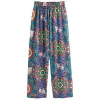 Women's Daydream Believer Loungewear - Elastic Waistband Pants