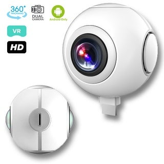Indigi PanoLive 720 Degree VR Sport Camera Video Recorder - for Android - Facebook & YouTube Support
