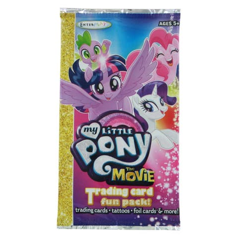 My Little Pony The Movie Trading Card Fun Pack