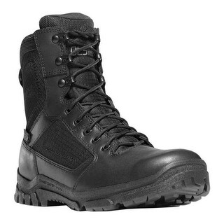 "Danner Men's Lookout 8"" Black Full Grain Leather"