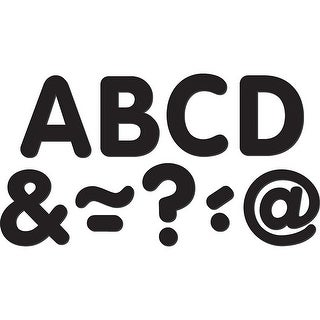 Black Classic 2In Magnetic Letters