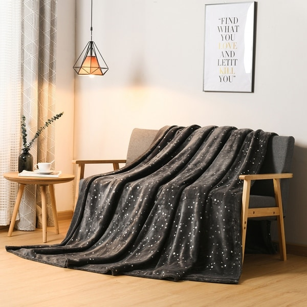 Glitzhome Ultra Soft Thick Microplush Bed Blanket Sofa Couch Throw. Opens flyout.