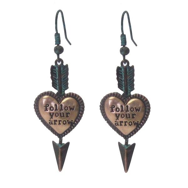 Follow Your Arrow Heart Earrings