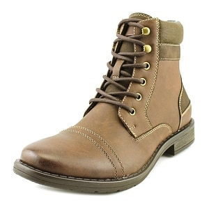Call It Spring IBIRAWEN Men Cap Toe Synthetic Brown Boot