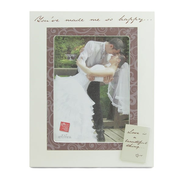 """You've Made Me So Happy"" Picture Frame by Russ Berrie"