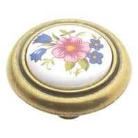 Hickory Hardware P776 English Cozy 1-1/4 Inch Diameter Mushroom Cabinet Knob