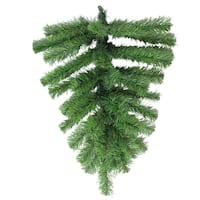 "22"" Colorado Spruce Artificial Christmas Teardrop Swag - Unlit"