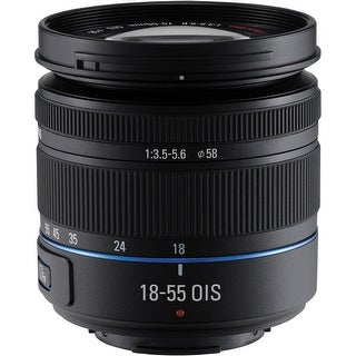 Samsung 18-55mm f/3.5-5.6 OIS Compact Zoom Lens (Black) (Certified Refurbished)