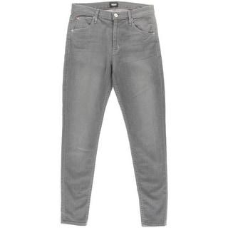 Hudson Womens Lynne Stretch High Waist Skinny Jeans - 30