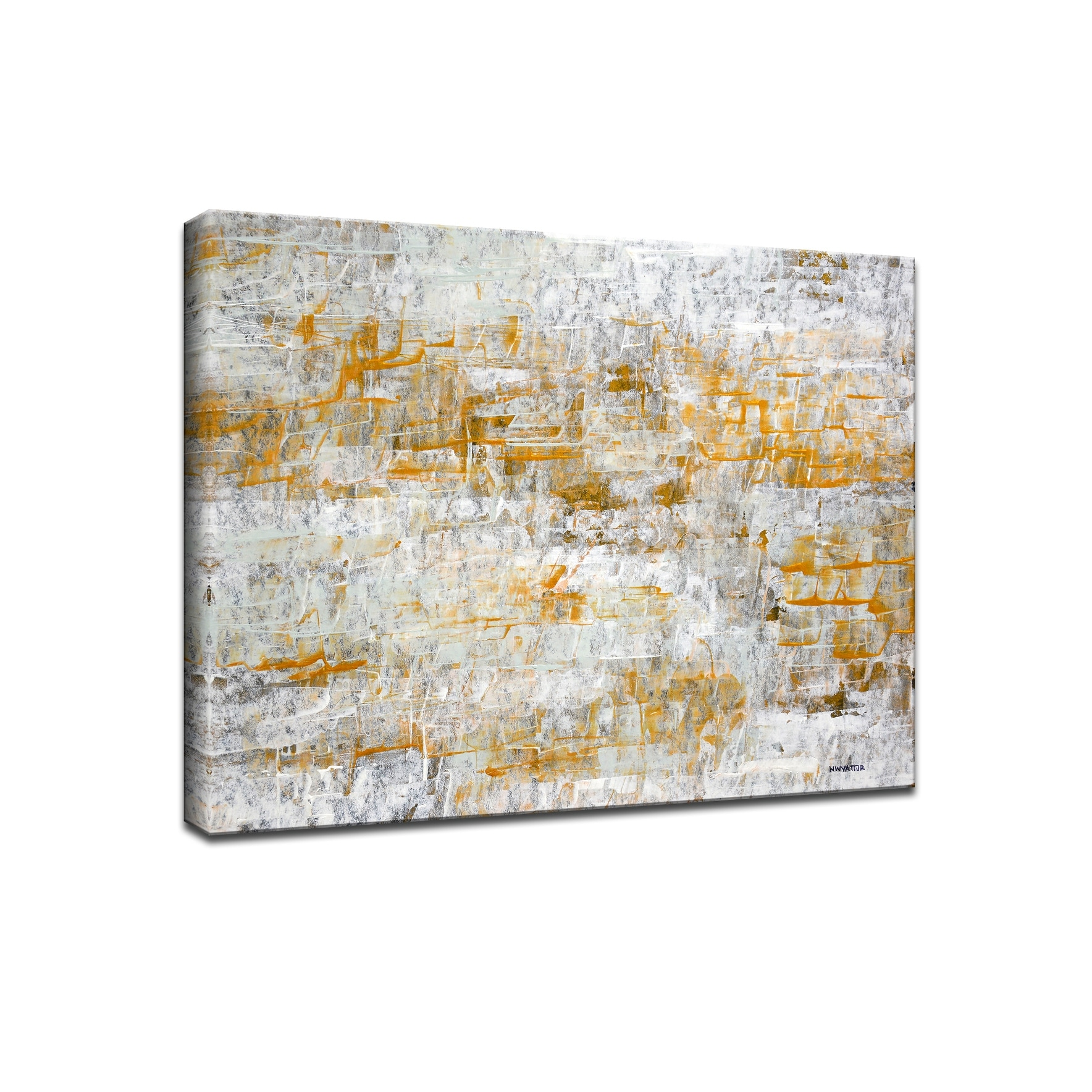 Footprints I Wrapped Canvas Wall Art By Norman Wyatt Jr Overstock 14215861