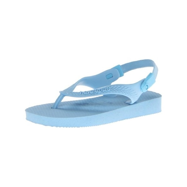 Havaianas Baby Top Flip-Flops Slingbacks Textured - 4/4.5 medium (d)