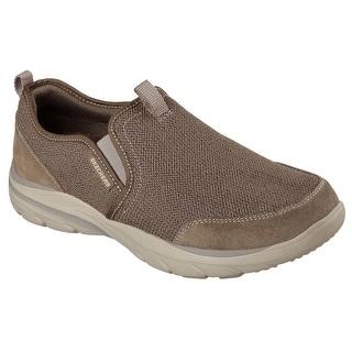 Skechers 64807 LTBR Men's CORVEN-HORST Loafers