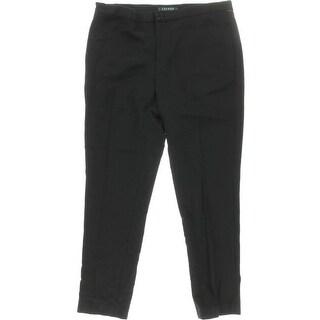 Lauren Ralph Lauren Womens Straight Leg Wool Dress Pants