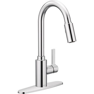 Moen 7882 Genta Pull-Down Spray Kitchen Faucet with PowerClean Technology