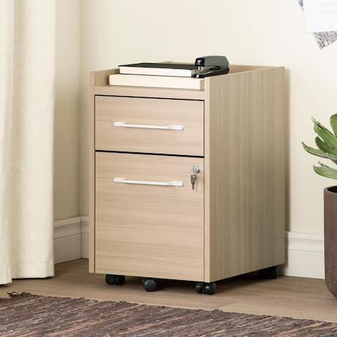 South Shore Helsy 2-Drawer Mobile File Cabinet