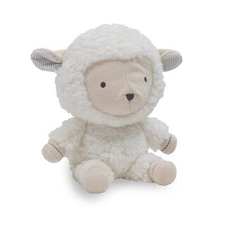 Lambs & Ivy White Signature Goodnight Sheep Plush Sheep - Puff