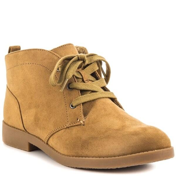Indigo Rd. Womens Auburn 2 Round Toe Ankle Fashion Boots