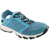 The North Face Women's Litewave Amphibious II Water Shoe Bristol Blue/Four Leaf Clover