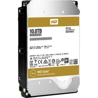 Western Digital Wd101kryz 10Tb Wd Gold High-Capacity Datacenter Hard Drive