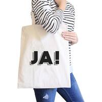 Ja! Natural Canvas Bag Canvas Tote Bags Gifts Ideas For Friends